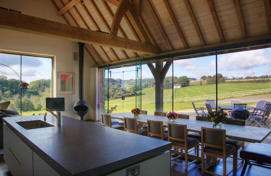 Richard & Alex Allsopp - Listed Barn Conversion
