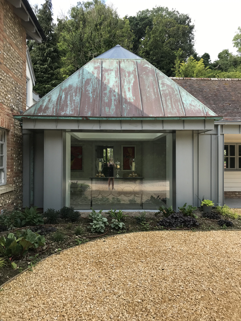 glass box extension salisbury
